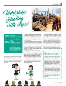 Interview in Resource about our new performance 'Dealing with Stress''