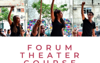 Forum Theater Course in September