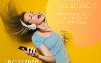 Webinar: Keeping the energy – Energizers for online events and meetings